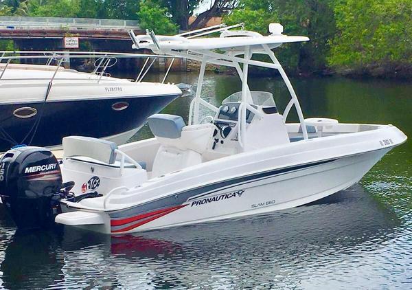 Used Pronautica Slam 660 Center Console Fishing Boat For Sale