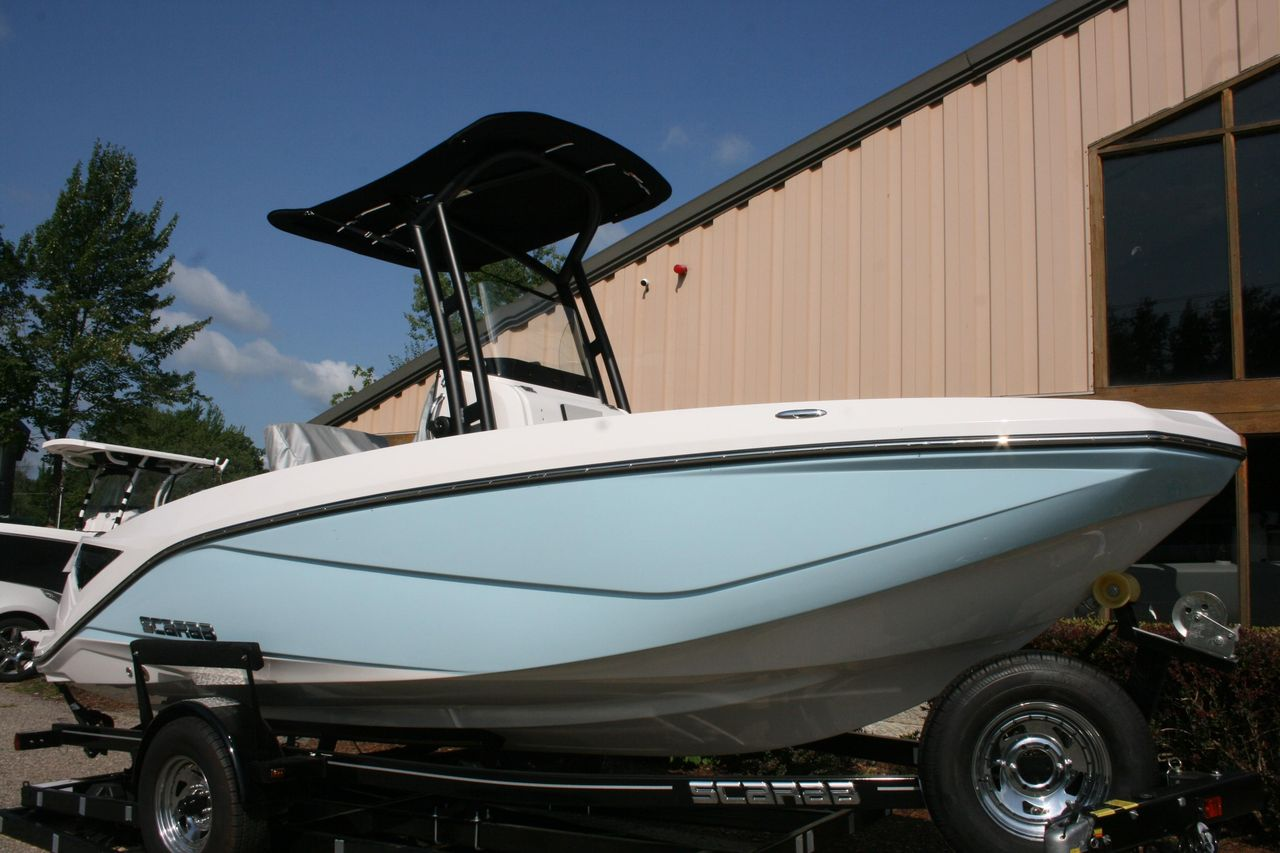 2018 New Scarab 195 Open Center Console Fishing Boat For