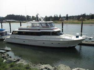 Used Kha Shing 75' Cockpit Motor Yacht Motor Yacht For Sale
