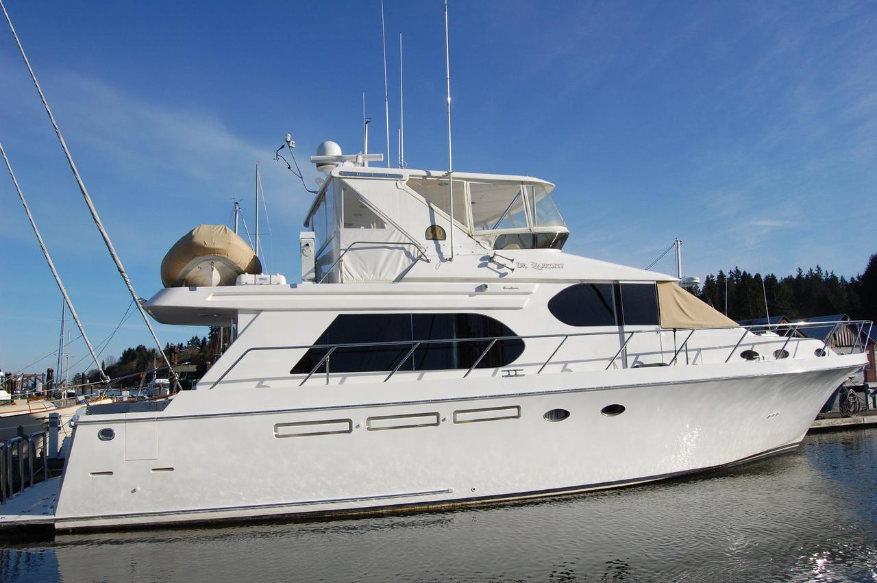 2004 Used Ocean Alexander 548 Pilothouse Motor Yacht For Sale