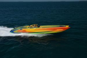 Used Marine Technology 44 High Performance Boat For Sale