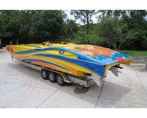 Used Mti 44 Power Catamaran Boat For Sale