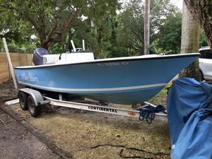 Used Seacraft 20 Classic Potter Hull Center Console Fishing Boat For Sale