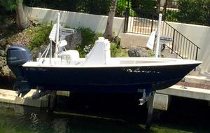 Used Seacraft 20' Potter Hull Completely Rebuilt Center Console Fishing Boat For Sale