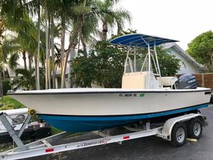 Used Seacraft 20' Master Angler 4 Stroke Center Console Fishing Boat For Sale