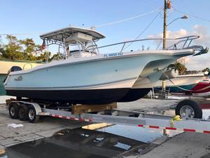 Used Pro Sports Pro Kat 2860 Cuddy Power Catamaran Boat For Sale