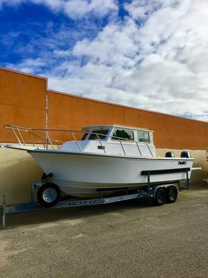 New Parker 2530 Extended Cabin Freshwater Fishing Boat For Sale