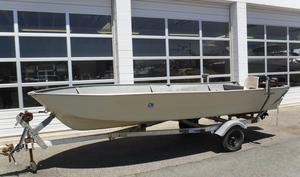 Used Smoker-Craft White Water Flat Freshwater Fishing Boat For Sale