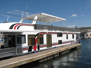 Used American Waterways 75 X 16 1/16 Multi-ownership Houseboat House Boat For Sale