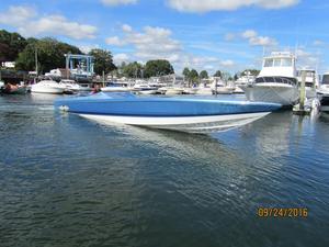 Used Cigarette 50' Marauder Cruiser Boat For Sale