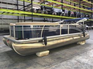 Used Harris Flotebote Cruiser 220 Pontoon Boat For Sale