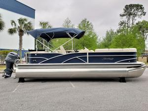 New Sweetwater Premium Edition 255 CB Pontoon Boat For Sale