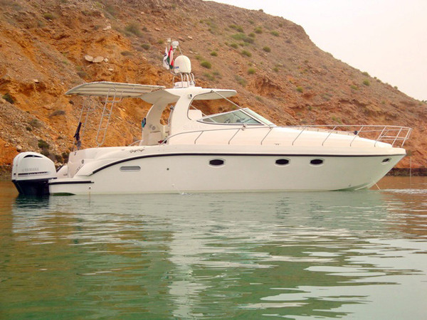 Used Gulf Craft Oryx 40 Open Express Cruiser Boat For Sale