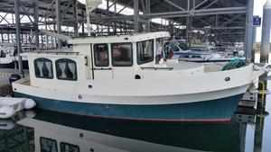 Used Custom ED Monk Tug Motor Yacht For Sale