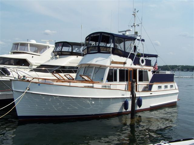 1981 used grand banks 42 motoryacht trawler boat for sale for Grand banks motor yachts for sale
