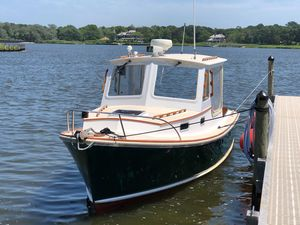 Used Dyer 29 Down East Hard Top Commercial Boat For Sale