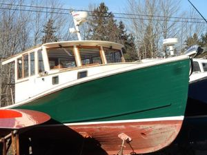 Used Lash Bros. Hard Top Sedan Downeast Fishing Boat For Sale