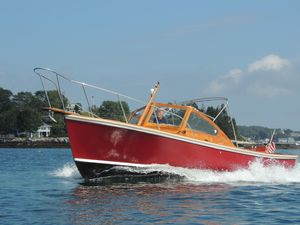 Used Dyer 29 Bass Boat Downeast Fishing Boat For Sale