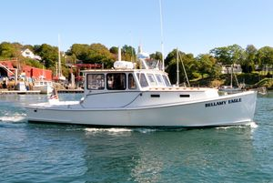 Used West Bay JIM BEAL Hardtop Fisherman Downeast Fishing Boat For Sale