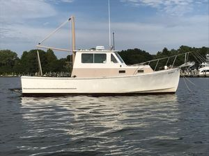 Used Sisu 26 Downeast Fishing Boat For Sale