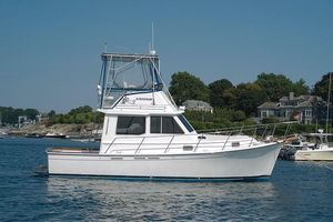 Used Cape Dory 30 Flybridge Hardtop Downeast Fishing Boat For Sale