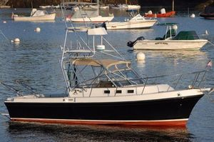 Used Albin 28TE Soft Top With Tower Downeast Fishing Boat For Sale