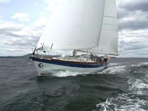 Used French And Webb Custom Cruiser Sailboat For Sale