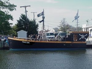 Used Var Custom Pirate Ship Commercial Boat For Sale
