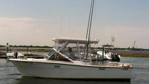 Used Topaz 24 Bimini Saltwater Fishing Boat For Sale