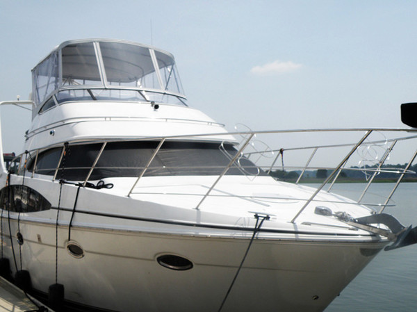 Used Carver 410 Sport Cruiser Boat For Sale