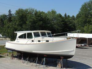 Used Northern Bay 38 Hardtop Sedan Downeast Fishing Boat For Sale