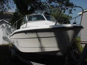Used Bayliner 1802 Trophy Walkaround Saltwater Fishing Boat For Sale