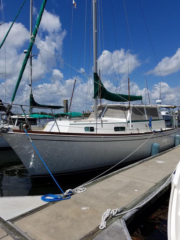 Used Gulfstar Motor Sailer Motorsailer Sailboat For Sale