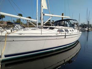 Used Hunter 41 Deck Salon Deck Saloon Sailboat For Sale
