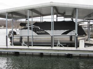 Used Aqua Patio 240 SL Pontoon Boat For Sale