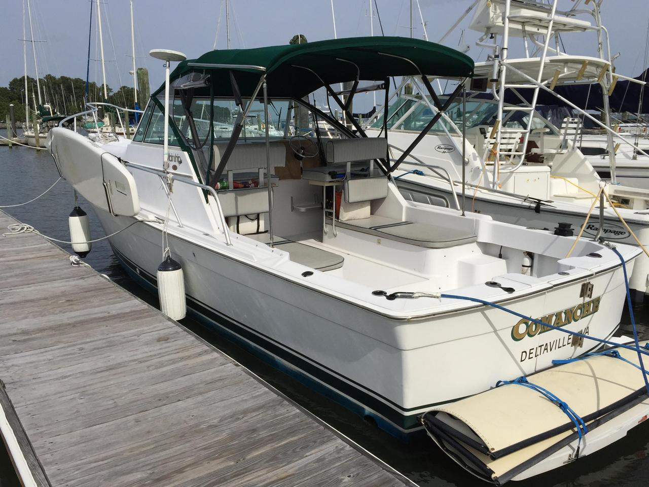 2000 Used Mainship Pilot 30 Cruiser Boat For Sale - $54,500
