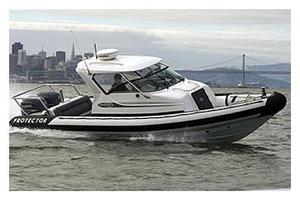 Used Protector Targa 28 Tender Boat For Sale