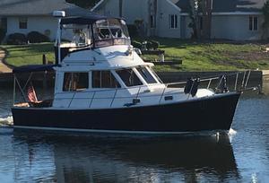 Used Cape Dory 33 Flybridge Trawler Boat For Sale