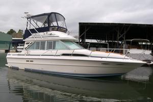 Used Sea Ray 340 Sedan Bridge Convertible Fishing Boat For Sale