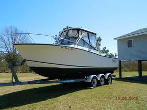 Used Carolina Classic 25 Sport Fisherman Cuddy Cabin Boat For Sale