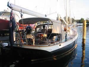 Used Cherubini Staysail Schooner Racer and Cruiser Sailboat For Sale