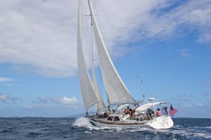 Used Scorpio ROBB LADD Custom Deck Saloon Sailboat For Sale