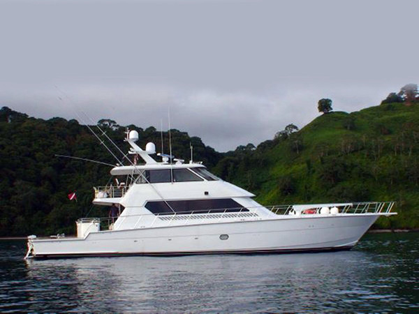Used Hatteras Enclosed Flybridge Motor Yacht Sports Fishing Boat For Sale