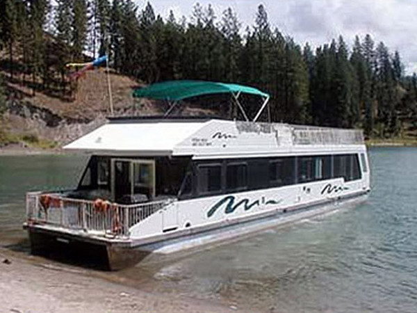 Used Twin Anchors House Boat For Sale