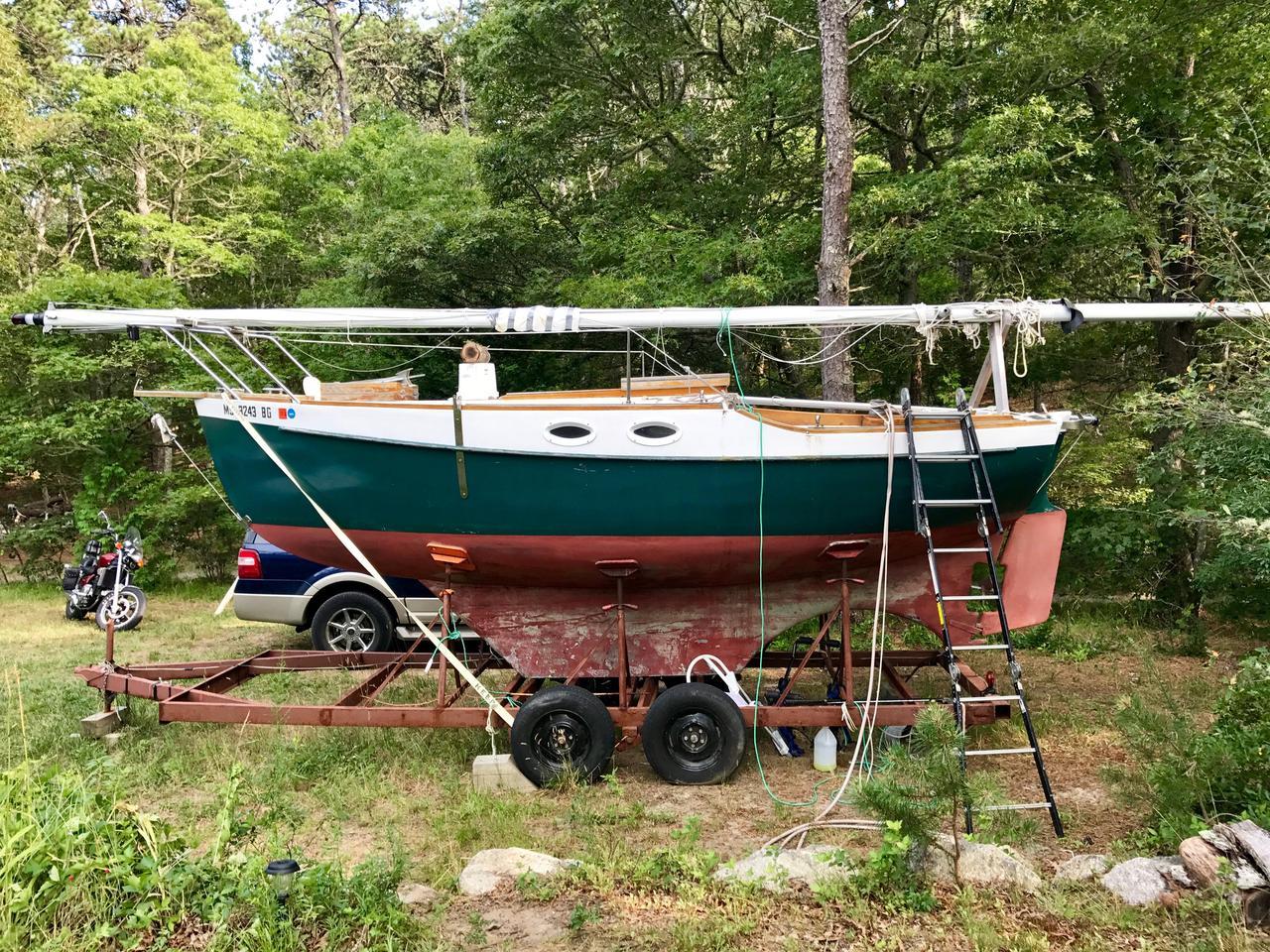 2001 Used North Island Marine Flush Deck Pocket Cruiser Sailboat For