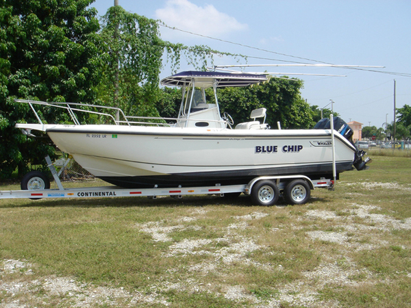 Used Boston Whaler 260 Outrage Sports Fishing Boat For Sale