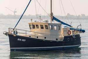 Used Diesel Duck 41' Plus Trawler Boat For Sale