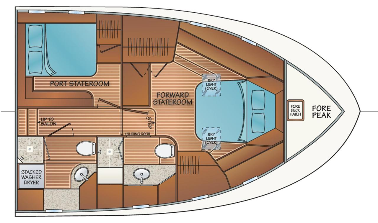 2019 New Fleming 55 Pilothouse Motor Yacht Build Wiring Diagrams For Sale