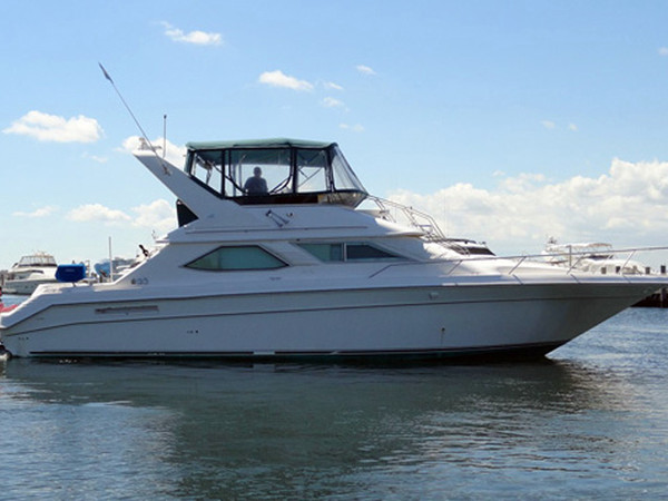 Used Sea Ray Express Sedan Bridge MY Motor Yacht For Sale