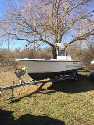 Used Cb Boat Works Alcar Pumpout Boat Center Console Fishing Boat For Sale